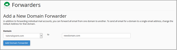 添加新的Domian