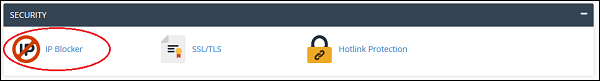 cPanel IP Blocker