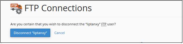 断开FTP连接