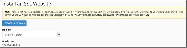 安装SSL
