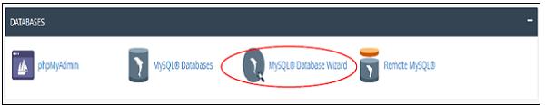 MySQL数据库向导
